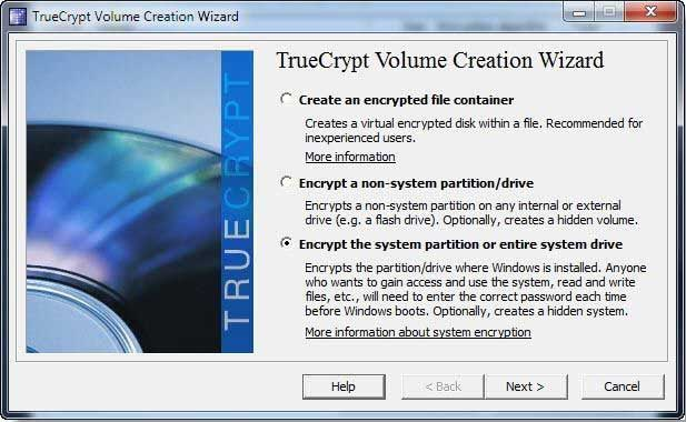 Open Source Security Assessment Tool, How TrueCrypt Works